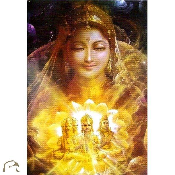 Indiske guder/gudinder - kort